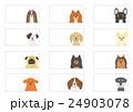 小型犬のバナーのセット 24903078