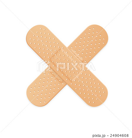 Aid Band Plaster Strip Medical Patch. Vector 24904608