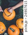 かぼちゃ カボチャ 南瓜の写真 24907615