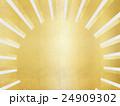 金色 日の出 和のイラスト 24909302
