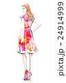 ドレスの女性 24914999