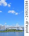 東京 都市風景 【お台場・レインボーブリッジ】 24915384