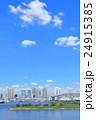 東京 都市風景 【お台場・レインボーブリッジ】 24915385
