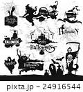 ハロウィン ベクタ ベクターのイラスト 24916544