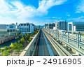 日本 線路 都市風景 24916905