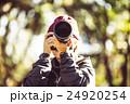 カメラマン フォトグラファー カメラの写真 24920254
