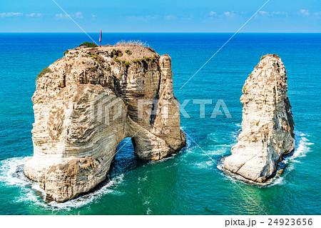 鳩の岩(レバノン、ベイルート) 24923656