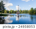 The Chesme Column in Catherine royal park Saint 24938053