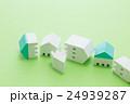地震イメージ 住宅 グリーンバック 24939287