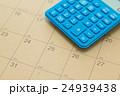 カレンダーと電卓 24939438