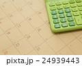 カレンダーと電卓 24939443
