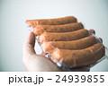 ソーセージ 肉類 真空パックの写真 24939855