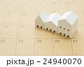 住宅とカレンダー 24940070