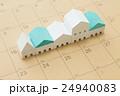 住宅とカレンダー 24940083