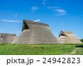 登呂遺跡 竪穴式住居 遺跡の写真 24942823