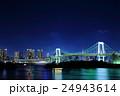 東京 都市風景【お台場の夜景】 24943614