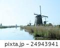 キンデルダイクの風車 24943941