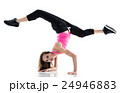 woman modern dancer dancing isolated 24946883