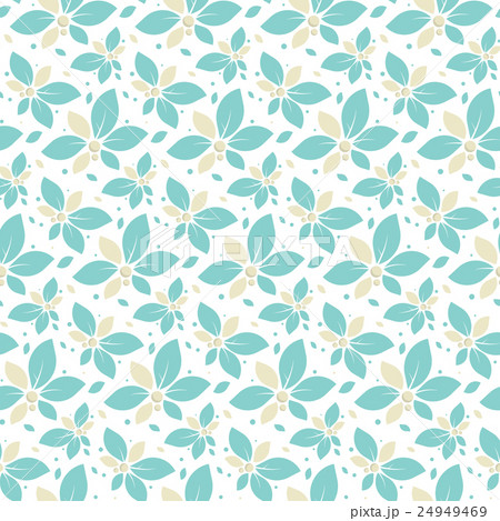 Seamless pattern with mint flowers 24949469
