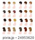 ヘアスタイル / 女性 / バリエーション 24953620