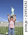 自由の女神と子供 24954282