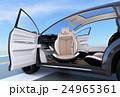 電気自動車 SUV 車のイラスト 24965361