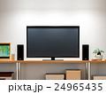 背景テレビ 24965435