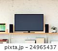 背景テレビ 24965437