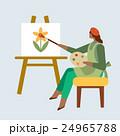 アート ホビー 趣味のイラスト 24965788