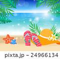 ビーチ 海 夏のイラスト 24966134