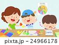 子 子供 絵画のイラスト 24966178