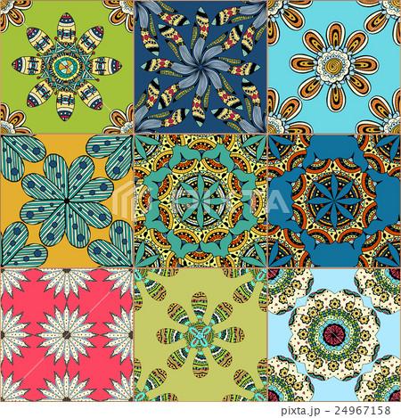 Gorgeous seamless patternのイラスト素材 [24967158] - PIXTA