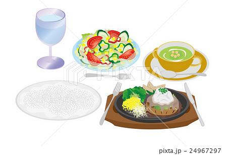 今日のご飯おろしハンバーグ 24967297