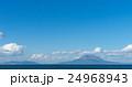 桜島と鹿児島市内遠景 24968943