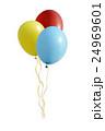 ベクトル バルーン 風船のイラスト 24969601