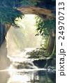 濃溝の滝 朝の光と水の流れ 24970713