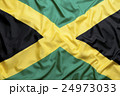Textile flag of Jamaica 24973033