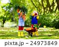 農場 キッズ 子供の写真 24973849