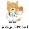 医者 犬 獣医 イラスト 24980424