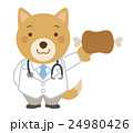 医者 犬 獣医のイラスト 24980426