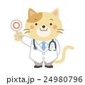 獣医 ネコ イラスト 24980796