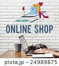 Eコマース 電子商取引 オンラインショッピングの写真 24989875