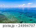 海景 沖縄 海の写真 24994707