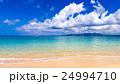 ビーチ、風景、沖縄。 24994710