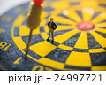 Concept of missed target business strategy. 24997721