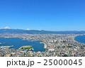 北海道 青空の函館風景 25000045