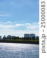 お台場海浜公園から見た台場公園 25000083