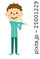 子供 男の子 体操のイラスト 25001229