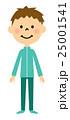 子供 男の子 笑顔のイラスト 25001541