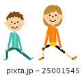 子供 体操 準備運動のイラスト 25001545